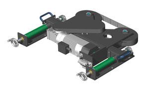 Green Motion - Drehscheibenbaukasten: Drehantrieb zur Außenmontage