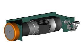 Green Motion - Drehscheibenbaukasten: Drehantrieb zur Innenmontage 1,5 kW