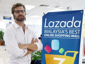 Maximilian Bittner, CEO of Lazada Group