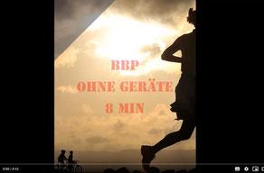 Bauch Beine Po ohne Geräte 8 min.