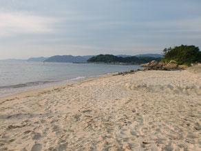 小串漁港横砂浜の写真