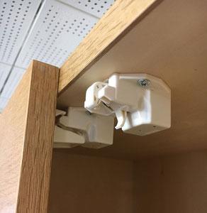 家具の耐震 地震への備え 耐震ラッチ