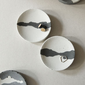 New Concrete Cloud Trinket Ring Dish By PASiNGA