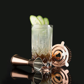 bavarian mule, barcatering, bar catering, cocktailcatering, cocktail catering, liquid-agentur, by peter a. loup wolf,   gin und weißbier? oh ja - das geht wirklich! der herb-frische drink vereint die bier-welt, mit der des gins. dieses geschieht durch ein