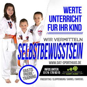 Selbstbewussstein - Thema Mai 2018 - Fachsportschule Kampf & Kunst