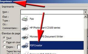 choix-imprimante-PDFcreator