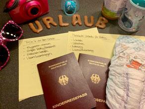 Reisen mit Baby und Kind - Checkliste und Packliste