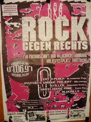 Legendäre Bands 1997 in Traunreut
