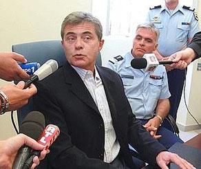 Le procureur de la République de Bastia, Dominique Alzeari