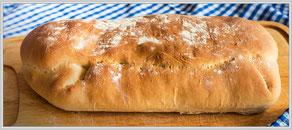 Rezept für ein köstliches Ciabatta - Italienisches Brot