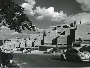 Terrassenwohnanlage Am Dünzlpark in Landshut, 1975
