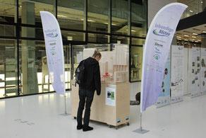 Lebendige Alster-Ausstellung in der HCU