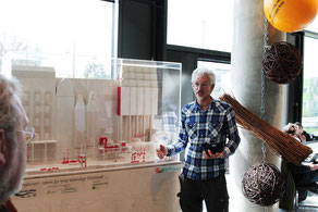 Vorstellung der Lebendige Alster-Ausstellung in der Behörde für Umwelt und Energie