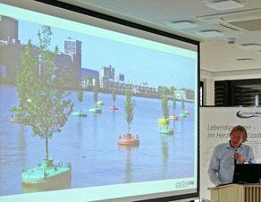 Jeroen Everaert und die schwimmenden Bäume von Rotterdam