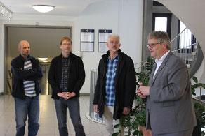 Ausstellungseröffnung im Bezirksamt Wandsbek