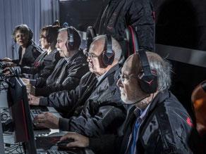 スウェーデンの高齢者e-sportsチーム