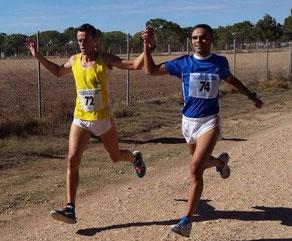 Carlos Romero, a la izquierda de la imagen.