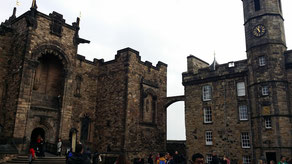 Edinburgh Castle, Scottish War Memorial und Royal Palace