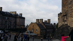 Edinburgh Castle, Governor´s House und New Barracks