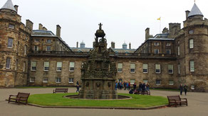 Palace of Holyroodhouse, Courtyard