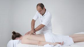 Bindegewebe Massage