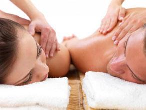 massage en duo, formule détente, bain en duo, relaxation, detente, massage à deux