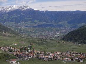 Bild mit Partschins Meran Dorf Tirol Schenna Ifinger