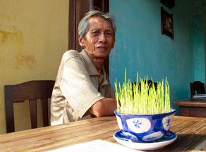 stilvolles Porträt eines Vietnamesen