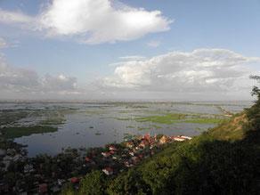 Vue sur Siem Reap depuis Phnom Krom