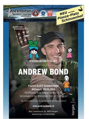 Kindernachmittag mit Andrew Bond