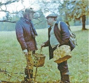 «У вас, за границей, грибные леса есть?» (Кадр из фильма Георгия Данелия «Осенний марафон») Фото www.kinopoisk.ru