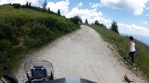 Auf dem Weg zur Wolfsberger Hütte