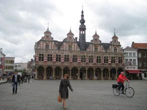 Marktplein in Aalst