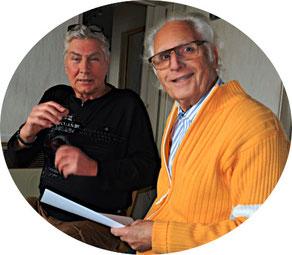 Bild von links: Reiner Kirsch und Manfred Schubert