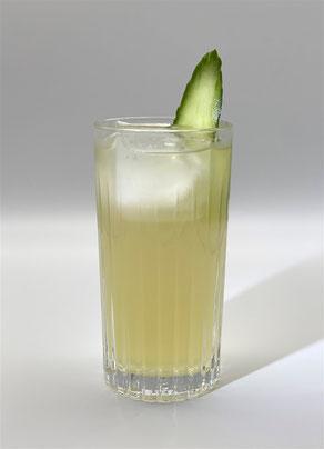 le gurk, le gurk cocktail, cocktail mit gurke, le gürk, le guerk, gurke cocktail, cocktail gurke