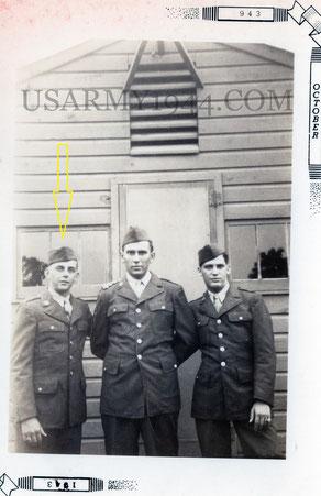 UNICA FOTO DEL 1943, DUE MESI DOPO IL SUO ARRUOLAMENTO