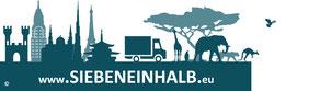Bild: Logo der Webseite www.SIEBENEINHALB.eu