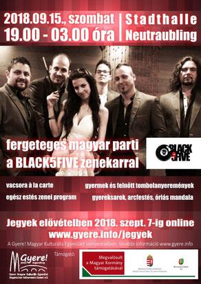 black5five regensburgi magyar parti a gyere! magyar kulturális egyesület szervezésében