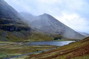 Highlands, Glen Coe, Schottland, Edinburgh, Natur, Valley, Berge, Tal, Wasser, See