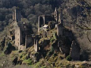 castel unique en correze classé à l unesco