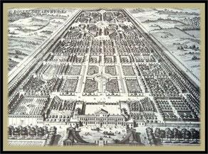 wer zählt die Wasserbecken auf dem Kupferstich* von 1714?