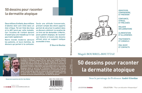 Photo du livre : 50 dessins pour raconter la dermatite atopique