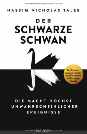 Buch, Cover, der schwarze Schwan, Nassim Nicholas Taleb