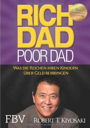 Buch, Cover, rich dad poor dad, Robert Kiyosaki