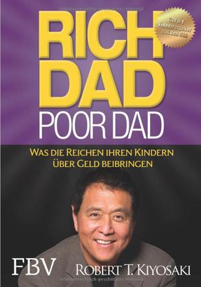 Buch, Cover, rich dad poor dad, Robert Kiyosaki