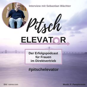 Sebastian Wächter ist Rollstuhlfahrer und war Interviewgast beim Podcaast Pitsch Elevator