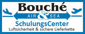 Logo Bouché Air & Sea GmbH: SchulungsCenter Luftsicherheit & sichere Lieferkette