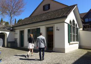 das Trauzimmer der Stadt Weinfelden
