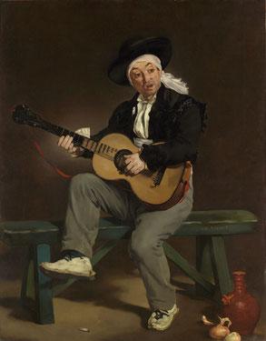 《スペインの歌手》1860年