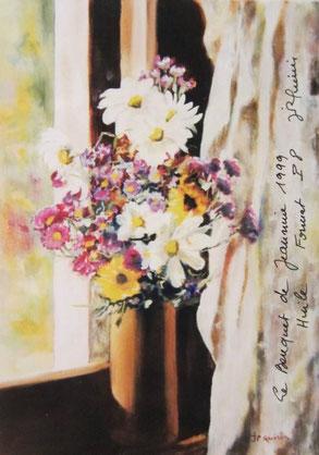 461- Même décor, seules changent les fleurs !
